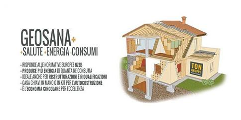 Restructuring and building to live in a healthy environment